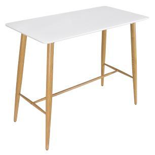 Bancada para banqueta - Mesa alta retangular - 60 x 120 cm