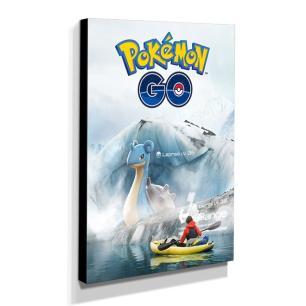 Quadro Pokémon GO Canvas 40x30cm-INF16