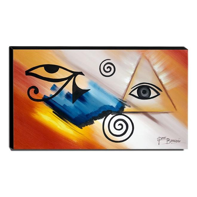 Quadro de Pintura Esotérico 60x105cm-1664