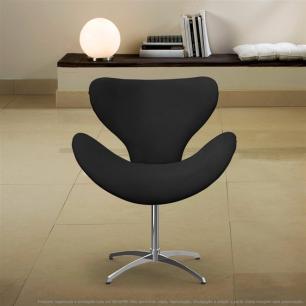 Cadeira Decorativa Poltrona Egg Cinza com Base Giratória