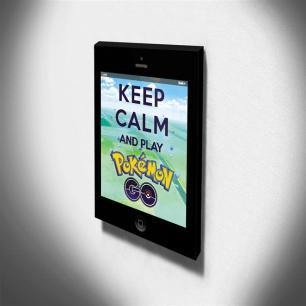Quadro Keep Calm And Play Pokemon Go Canvas 40x30cm-KCA106