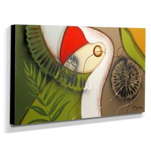 Quadro de Pintura Decorativo 70x120cm-1418