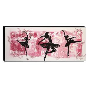 Quadro de Pintura Bailarina 40x105cm-1437