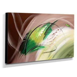 Quadro de Pintura Abstrato 70x120cm-1403