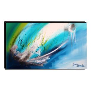 Quadro Decorativo Canvas Abstrato 60x105cm-QA-101