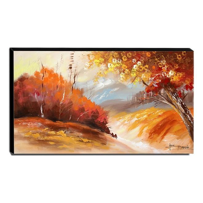 Quadro de Pintura Paisagem 70x120cm-1507