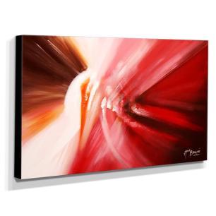 Quadro de Pintura Abstrato 60x105cm-1523