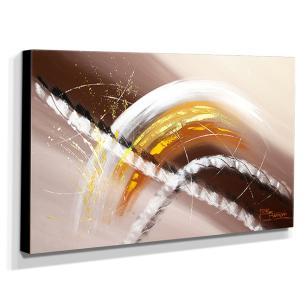 Quadro de Pintura Abstrato 70x120cm-1371