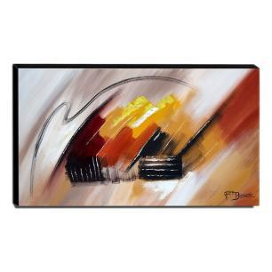 Quadro de Pintura Abstrato 60x105cm-1653