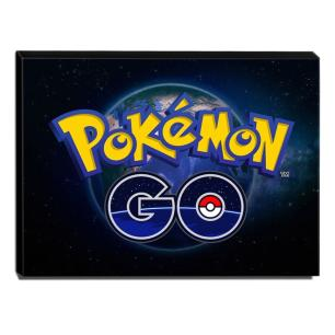 Quadro Pokémon GO Canvas 30x40cm-INF03