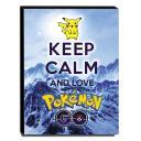 Quadro Keep Calm And Love Pokemon Go Canvas 40x30cm-KCA105