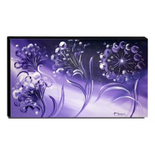 Quadro Decorativo Canvas Floral 60x105cm-QF19