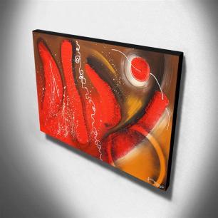Quadro de Pintura Abstrato 80x120cm-1433