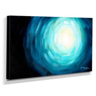Quadro de Pintura Abstrato 70x120cm-1576