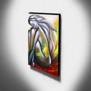 Quadro Decorativo Canvas Abstrato 105x60cm-QA-100