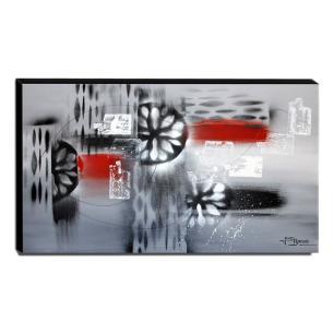 Quadro de Pintura Abstrato 70x120cm-1227