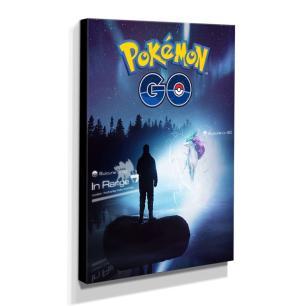 Quadro Pokémon GO Canvas 40x30cm-INF17