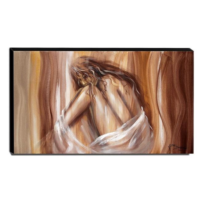 Quadro de Pintura Nu 70x120cm-1602