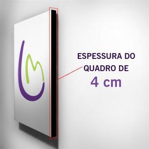 Quadro de Pintura Tulipas 100x40cm-1026