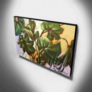 Quadro Decorativo Canvas Floral 60x105cm-QF11