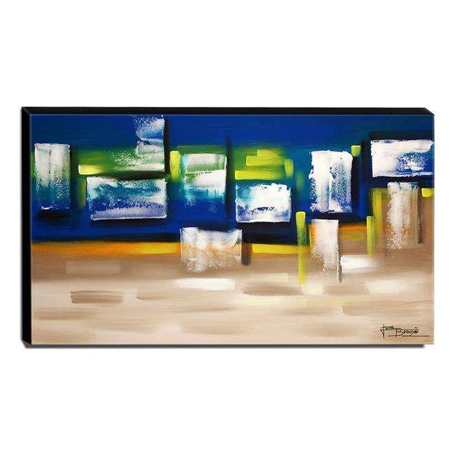 Quadro de Pintura Abstrato 70x120cm-1794