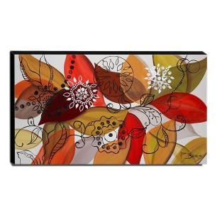Quadro de Pintura Decorativo 60x105cm-1646