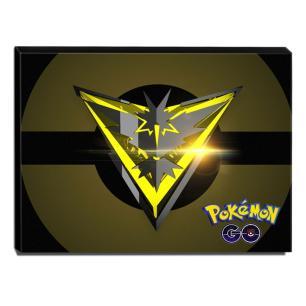 Quadro Pokémon GO Team Instinct Canvas 30x40cm-INF36