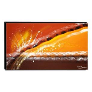 Quadro de Pintura Abstrato 70x120cm-1349