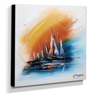 Quadro de Pintura Decorativo 60x60cm-1685