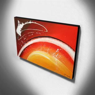 Quadro de Pintura Abstrato 70x120cm-1792