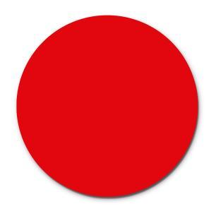Prato Giratório Centro De Mesa Laqueado Vermelho 60cm