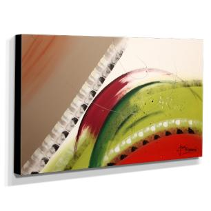 Quadro Decorativo Canvas Abstrato 60x105cm-QA-29