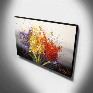 Quadro de Pintura Floral 70x120cm-1277