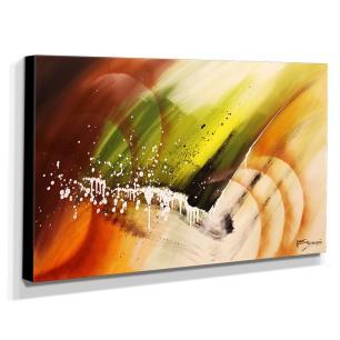Quadro de Pintura Abstrato 70x120cm-1530