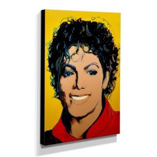 Quadro Pop Art Michael Jackson Canvas 40x30cm-QP3