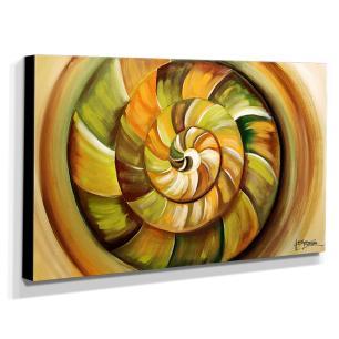 Quadro de Pintura Abstrato 70x120cm-1672