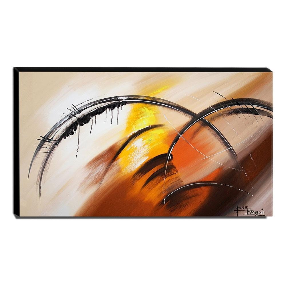 Quadro de Pintura Abstrato 60x105cm-1601