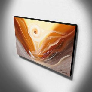Quadro de Pintura Copo de Leite 70x120cm-1431