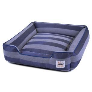 Cama de Cachorro com Zíper Olympus Senhor Bicho - M - Azul