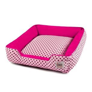 Enxoval Cama de Cachorro com Zíper Pandora Senhor Bicho - M - Rosa Poá Pink
