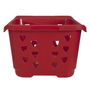 Cesta Organizador 50L Laundry Vermelho