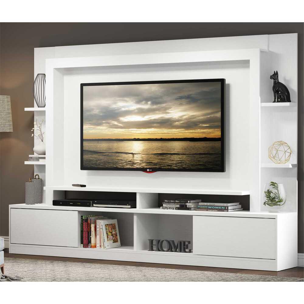 Estante com painel e suporte p/ TV até 65