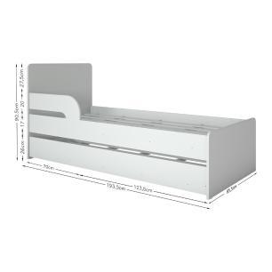 Bicama para colchão 78 x 188 cm Multimóveis Branca