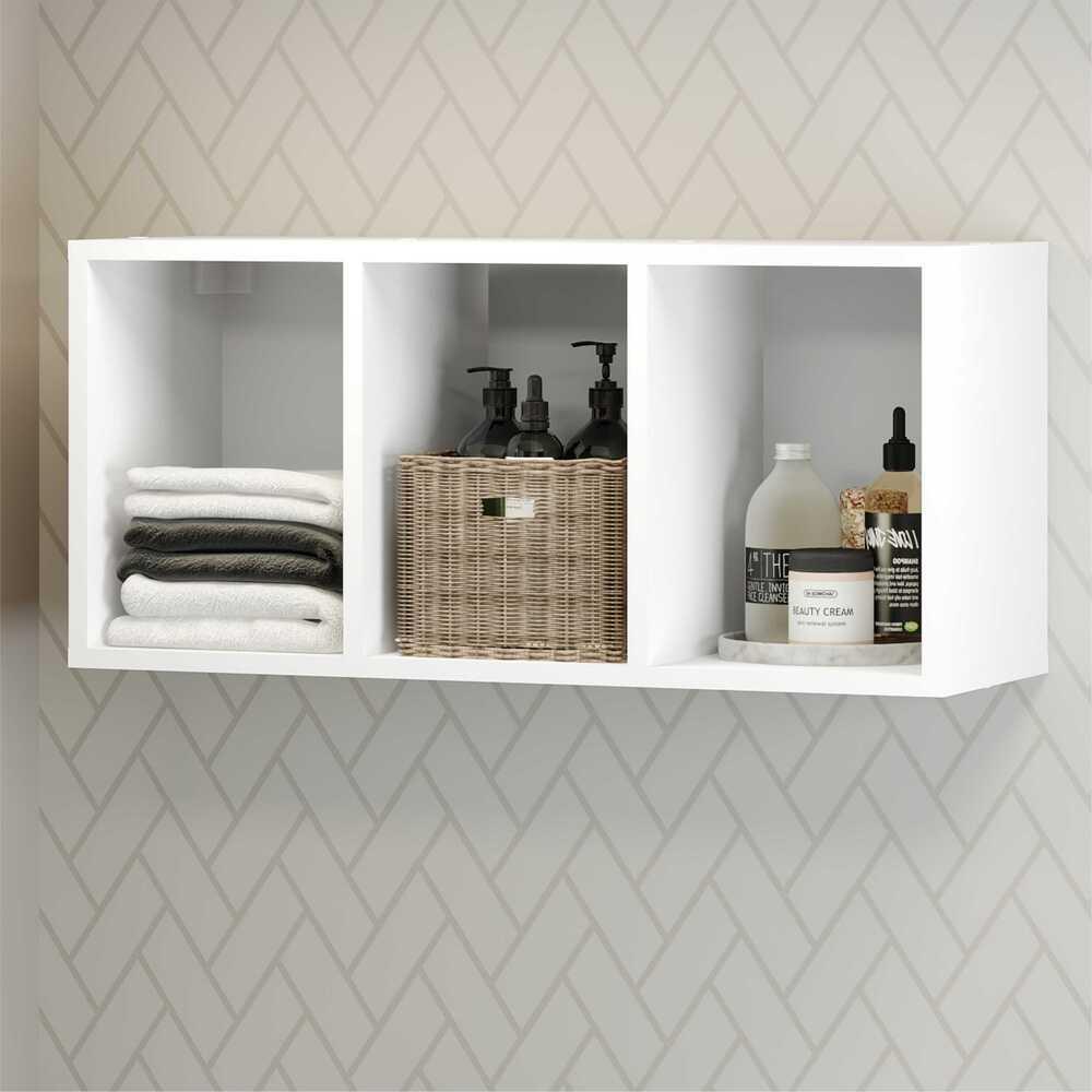 Nicho Decorativo  33 x 90 cm  Multimóveis Branco