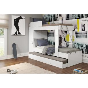 Treliche para colchão 78 x 188 cm Multimóveis Branco