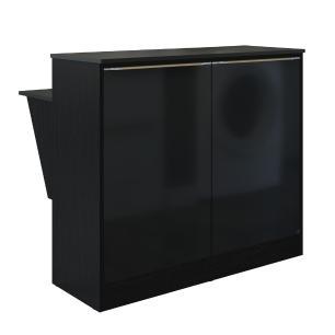 Bancada Balcão/Mesa Cozinha Multimóveis 5484 Preto