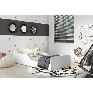 Cama Infantil Montessoriana p/ colchão 70 x 150 cm 100% MDF Multimóveis Branca