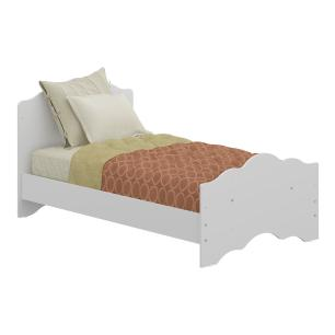 Berço mini cama 3 em 1 e Cômoda 4 gav Ana Lívia Multimóveis Branco