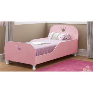 Mini Cama Multimóveis Rei / Rainha 100% MDF para colchão 150cmx70cm Rosa Purpura REF.2321.116