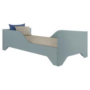 Cama Juvenil/Solteiro MDF Sonho FLEX Azul Premium Multimóveis para colchão 188 x 88 cm REF.2762.158